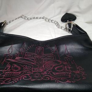 Lux De Ville leather purse